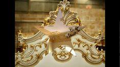 stucco, gold leaf, silver foil wallpaper silk wallpaper gold motif, +407...