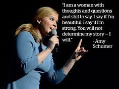 Amy Schumer - 13 Feminist Comedians Prove Just How Fun Challenging the Patriarchy Can Be - Mic