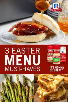 Make new memories this Easter with these three menu must-haves! Start with ham and a side of asparagus, then finish with an irresistible dessert. It's Gonna Be Great. Veggie Side Dishes, Vegetable Dishes, Side Dish Recipes, Carrot Recipes, Vegetable Recipes, Healthy Recipes, Easter Dinner Recipes, Holiday Recipes, Easter Lunch