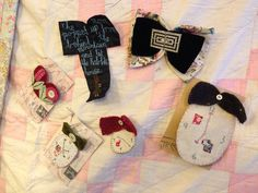 Jessie's tick tock brooches