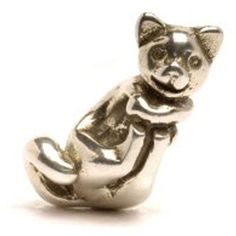Trollbeads Big Cat - smiling sweetly to reel you in on Halloween