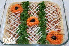 Humus Tarifi Turkish Recipes, Quick Recipes, Humus, Creme, Pineapple, Fruit, Food, Dinner Table, Dip