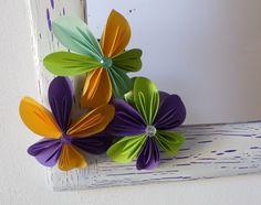 Návod na květinu z papíru