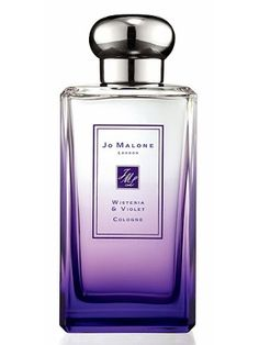 Wisteria & Violet by Jo Malone is a fresh, powdery, aquatic Floral fragrance with water lily in the top. Wisteria and violet in the middle. Patchouli in the base. - Fragrantica