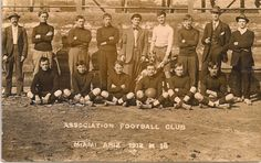 Association football club, Miami 1912 - 1918, colección C.H.