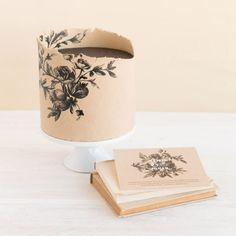 By Knead to Make, based on the card design by R Studio that was printed by Minted.