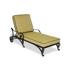 Deauville II  - Chaise Lounge with Cushion thru bestpricesforfurniture.com