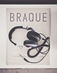 Pochette Braque casque audio