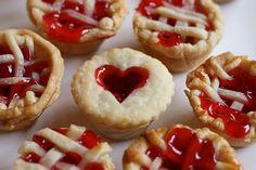 Mini-cherry pies. Adorable.
