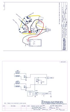 gibson thunderbird pickup wiring also les paul electric guitar Tube Amp Schematics