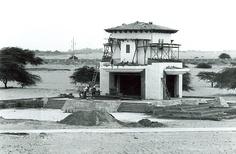 La construcción de la Ermita (1982) de la Universidad de Piura.   Archivo Fotográfico de la UDEP.