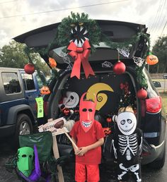 The Nightmare Before Christmas Halloween trunk-or-treat ideas ...