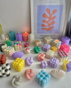 Cute Candles, Best Candles, Diy Candles, Modern Candles, Unique Candles, Handmade Candles, Cute Bedroom Decor, Room Ideas Bedroom, Teen Bedroom Designs