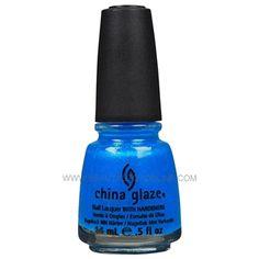 China Glaze Nail Polish - #1010 Blue Sparrow 80840