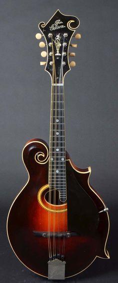 Vintage 1926 Gibson F-4 mandolin