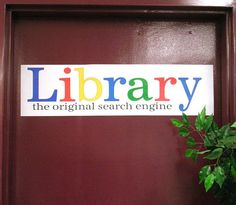 Library -- the original search engine by Enokson, via Flickr {I pinned a few of my favorites, but there are more...many more ideas.}