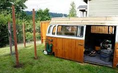 VW Shed What a dandy idea for all those old cars piling up in your back yard LOL