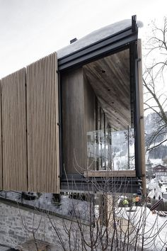 Modern House Design by Gogl Architecten, Neutral Colors and Panoramic Views of the Alps Wood Architecture, Residential Architecture, Amazing Architecture, Contemporary Architecture, Architecture Sketchbook, Architecture Graphics, Victorian Architecture, Architecture Student, Architecture Portfolio