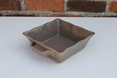 Ceramic Ovenware Dish - Small Square Mink