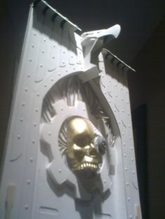 scratch eagle and skull Warhammer Terrain, Warhammer 40k, Game Terrain, Floor Texture, Wargaming Terrain, Tabletop, Modeling, Door Handles, Scenery