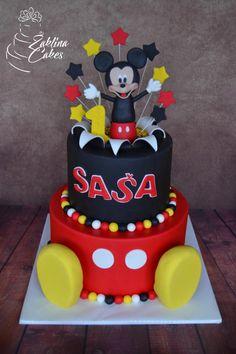 Mickey Mouse cake by Zaklina
