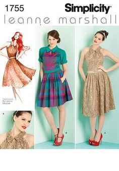 Simplicity Creative Group - Misses' & Miss Petite Dresses Leanne Marshall Collection