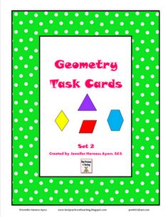 It's Hip to Be Square (including Common Core Standards) - 8 tips for teaching geometry.