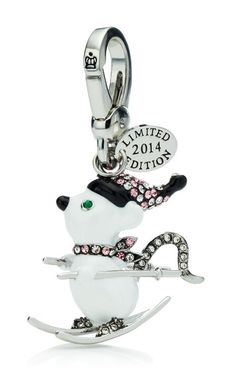 Juicy Couture Limited Edition Ski Mouse Charm 2014