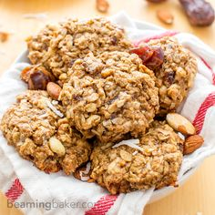 Good Morning Breakfast Cookies: an easy recipe for feel-good, energy-boosting cookies made with whole ingredients. Vegan and Gluten Free.