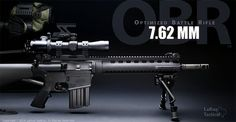 LaRue Optimized Tactical Battle Rifle.