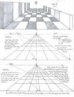 intro to perspective 1 2 and 3 point by markcrilley on