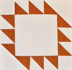 Day 46: Sawtooth II Quilt Block