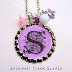 Personalized Bottle Cap Necklace