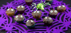 Eyes in the Dark Mini-Cupcakes -- Halloween Marijuana Recipes - Powered by @cannnabischeri