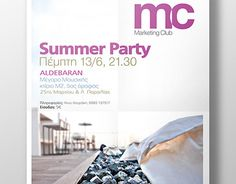 """Check out new work on my @Behance portfolio: """"Summer Party - Poster (2013)"""" http://be.net/gallery/34226653/Summer-Party-Poster-(2013)"""