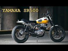 Daniel Peter bringt eine Yamaha SR500 auf den neuesten Stand - wildcrumbs