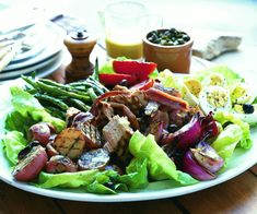 Grilled Salade Nicoise Recipe