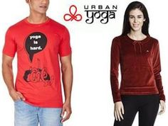 Unisex Urban Yoga Clothing at Flat 60%-70% Off + Free Shipping on August 06 2016. Check details and Buy Online, through PaisaOne.