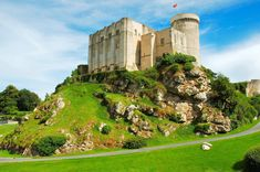 "Château de Falaise is a castle located in the south of the commune of Falaise (""cliff"" in French) in the Calvados département of Normandy, France."