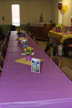 Tangled / Rapunzel Party Table Decoration Centerpieces