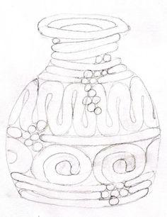 red ceramic coil pot - Google Search