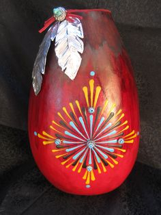 Native Beauty.  This class teaches color blending, wax design and foil feathers.