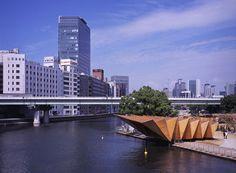 ryuichi ashizawa architects: bamboo forest and huts with water