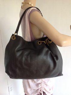 Simply Vera Vera Wang handbag Purse Dark Brown Simply Vera 142010c83b258