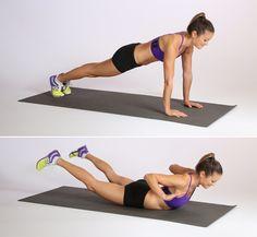 Superwoman Plank