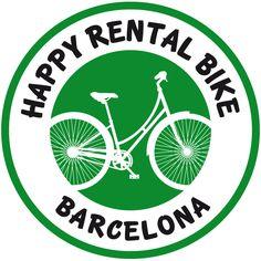 New Logo Happy Rental Bike Barcelona