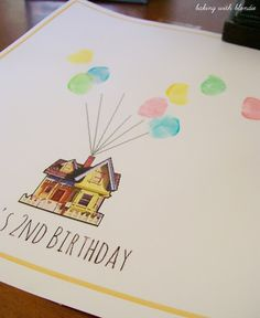 Baking with Blondie : UP Birthday Party