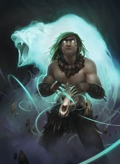 ArtStation - Druid - Come forth to life., Dave Greco