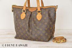 Louis Vuitton Monogram Palermo PM Shoulder Bag With Strap M40145