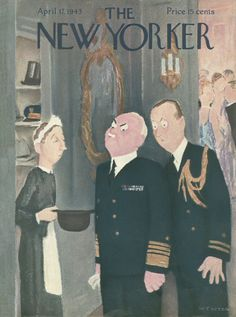 The New Yorker - Saturday, April 17, 1943 - Issue # 948 - Vol. 19 - N° 9 - Cover by : William Cotton